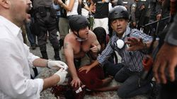 Protestos: 126 jornalistas