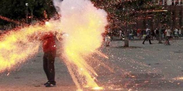 Polícia prende suspeito de lançar rojão que provocou morte de