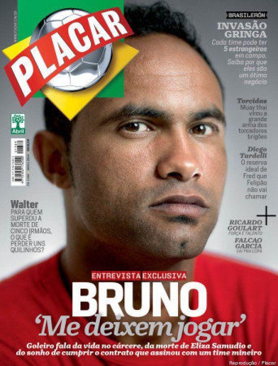 Em entrevista exclusiva a Revista Placar, ex-goleiro Bruno revela ter tentado o suicídio na