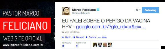 Marco Feliciano ataca vacina contra HPV para meninas de 11 a 13