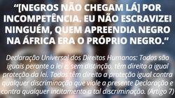 Parece que Bolsonaro não leu a Declaração Universal dos Direitos