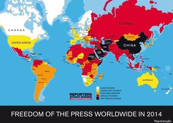 Brasil é nº 1 em jornalistas mortos na