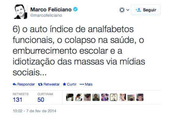 Marco Feliciano comprova que o analfabetismo é o pior problema do país em um
