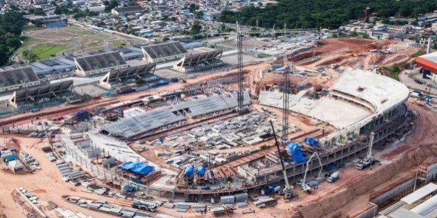 Manaus, Dezembro de 2012 - Obras da Arena da Amazônia. (Foto: Portal da