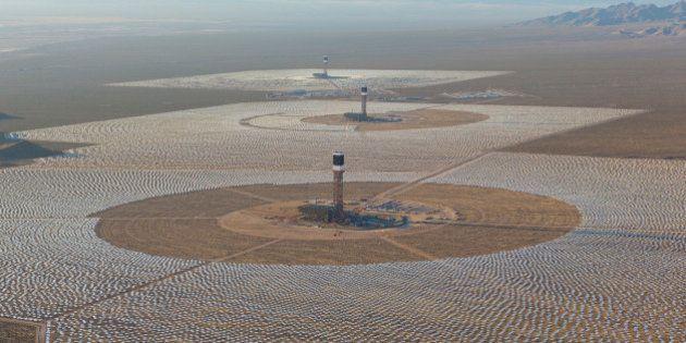 Maior usina de energia solar do mundo entra em