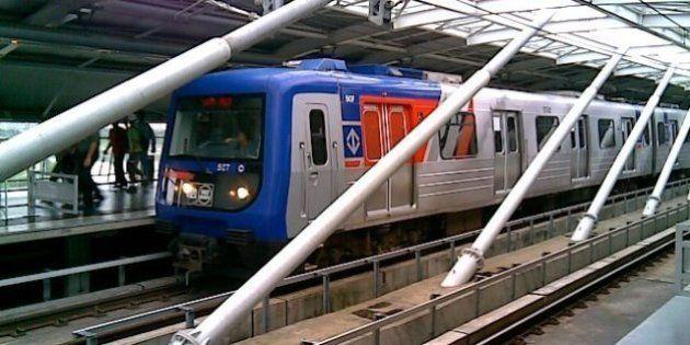 Falha de energia paralisa a Linha 5 do Metrô de São