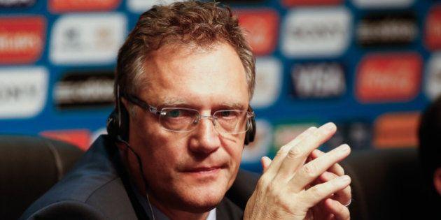Jérôme Valcke, Secretário-geral da FIFA, admite que existe risco de jogos manipulados na