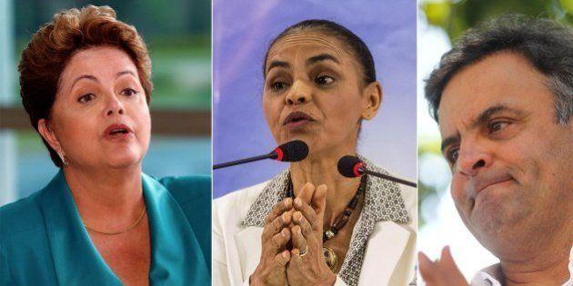 Dilma e Marina estão empatadas no segundo turno, e Aécio se mantém fora do páreo, aponta nova pesquisa...