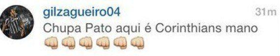 Zagueiro do Corinthians, Gil é alvo de ofensa racista no Instagram, mas não vai processar autor na