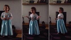 ASSISTA: Menina dá bronca em pais que riram da apresentação