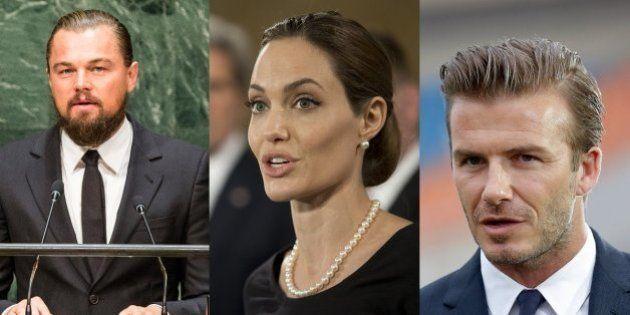 Angelina Jolie, David Beckham, Leonardo DiCaprio... Saiba quem são as celebridades engajadas em causas