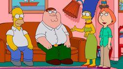 'Os Simpsons' + 'Family Guy': críticas sobre piada de