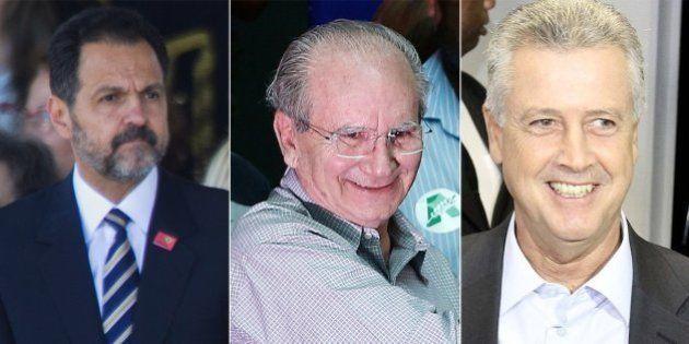 Ibope mostra Rodrigo Rollemberg na frente e Jofran Frejat e Agnelo Queiroz empatados na briga pelo governo...