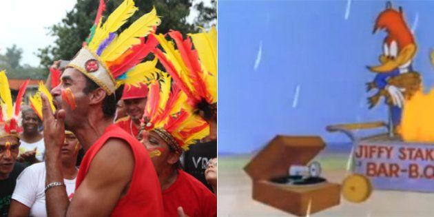Movimento sem-teto se inspira em episódio de Pica-Pau para 'puxar a orelha' de Alckmin sobre a falta...