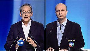 Debate na Record: O visual dos candidatos ao governo de