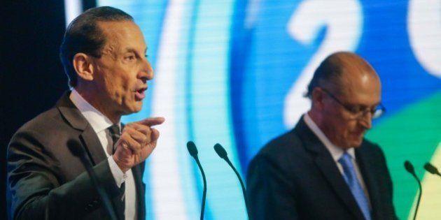 #DebateNaRecord: Paulo Skaf e Alexandre Padilha 'apelam' até para nanicos, mas Geraldo Alckmin curte...