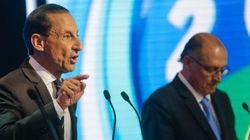 Debate na Record: Skaf e Padilha bateram, bateram... e Alckmin