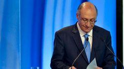 Alckmin sobre crise da água: