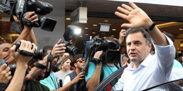 Aécio Neves lança programa de governo em partes a partir de