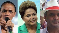 Datafolha: Marina e Aécio enfrentam disputa apertada por vaga no 2º turno contra favorita