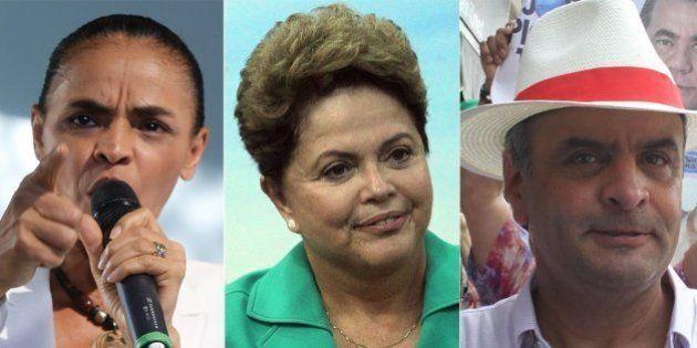 Pesquisa Datafolha mostra disputa apertada entre Marina e Aécio por vaga no segundo turno com Dilma,...