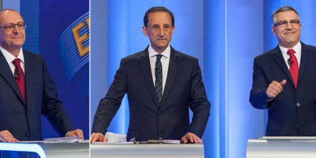 #DebateNaGlobo: Alvo da dupla Skaf e Padilha, Alckmin tabela com 'nanicos' contra críticas e garante:...