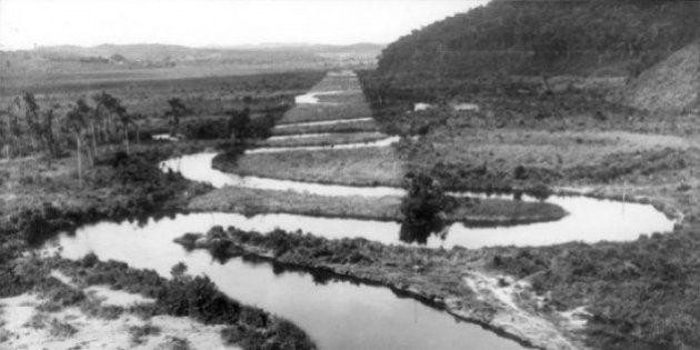 Enterrados vivos: a saga dos rios de