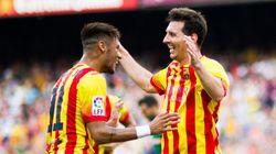 Messi enche a bola de Neymar e diz que brasileiro um dia será o