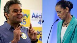 A 3 dias da eleição, Marina e Aécio brigam por vaga no 2º turno, diz