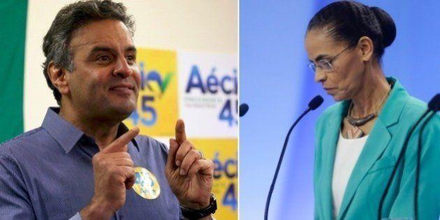 Eleições 2014: a três dias do pleito, Datafolha registra empate técnico entre Marina e Aécio na briga...