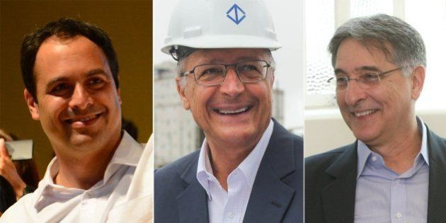 Datafolha: Paulo Câmara, Geraldo Alckmin e Fernando Pimentel, candidatos a governador, vencerão no primeiro