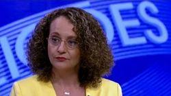 Luciana Genro chega dando show: 'Rede Globo só mostrou os 3 candidatos das famílias