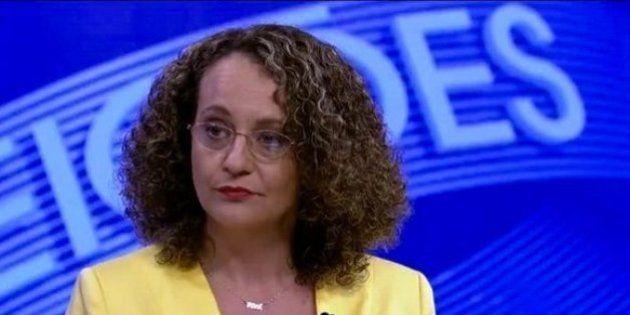 Luciana Genro chega batendo na TV Globo, engrossa com Dilma e ataca
