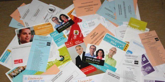 Aquesta és part de la propaganda amb que els partits polítics van tudar paper al meu municipi les passades...