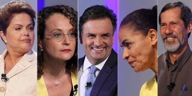 10 cenas e frases marcantes do #DebateNaGlobo, o mais tenso debate entre os