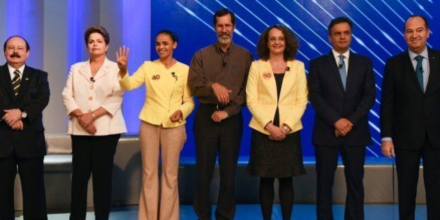Brazilian Presidential candidates, Brazilian President and candidate for the Workers Party (PT) Dilma...