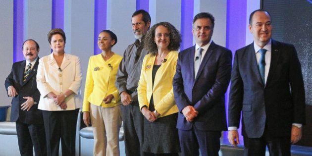 #DebateNaGlobo: No encontro mais quente de todos, Dilma 'escolhe' rival em cenário apertado entre Marina...