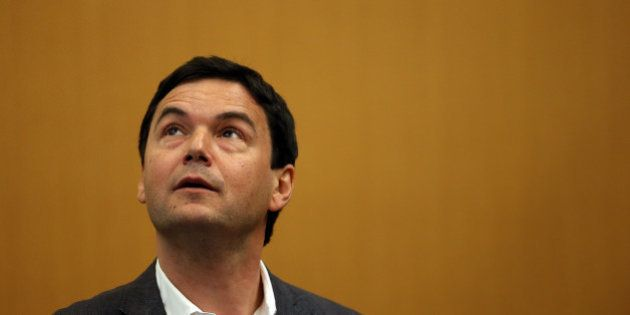 BERKELEY, CA - APRIL 23: Economist and author Thomas Piketty speaks to the Department of Economics at...