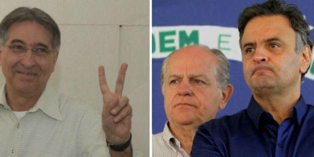 Fernando Pimentel (PT) é eleito governador de Minas Gerais e acaba com 12 anos de governo tucano no