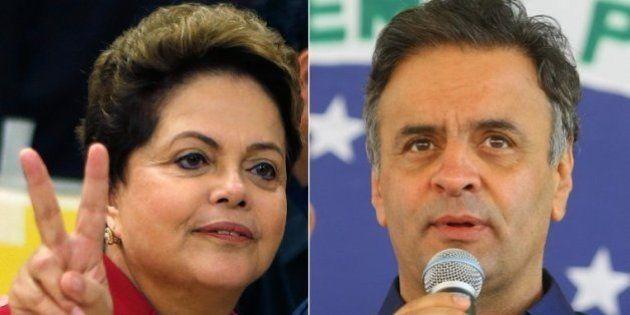 Dilma Rousseff e Aécio Neves vão para o 2º turno em disputa presidencial surpreendente e muito