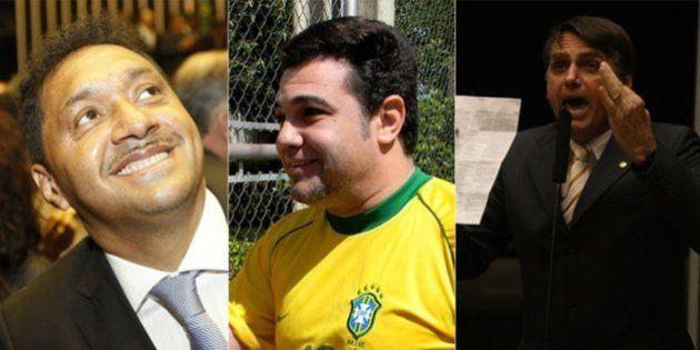 Eles estão de volta! Com votações expressivas, Bolsonaro, Feliciano e Tiririca estão de volta por mais...