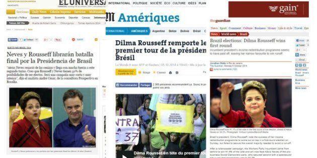 Para imprensa internacional, segundo turno com Aécio Neves é surpresa e coloca Dilma em