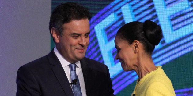 Marina vai apoiar Aécio se o candidato se comprometer com a reforma tributária e o fim da
