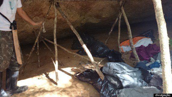 Funcionários desmantelam acampamentos de caçadores no Parque Estadual de