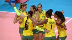 Brasil bate China com facilidade e se aproxima das semifinais do