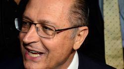 Vai secar? Alckmin diz que