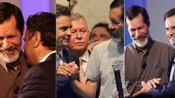 18 fotos que mostram o flerte antigo de Eduardo Jorge e Aécio Neves, agora