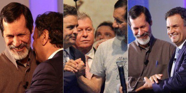 Fãs questionam aliança de Eduardo Jorge e Aécio Neves no segundo turno, mas flerte entre os dois é antigo