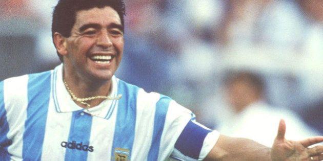 BOSTON, UNITED STATES - JUNE 25: WORLD CUP 1994, Boston; ARGENTINIEN - NIGERIA (ARG - NGR) 2:1; Diego...
