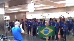 Adivinha onde é a primeira loja da Apple no Brasil